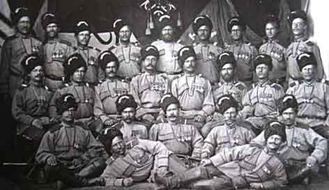 Казаки 1-го сибирского казачьего полка [Фот с сайта